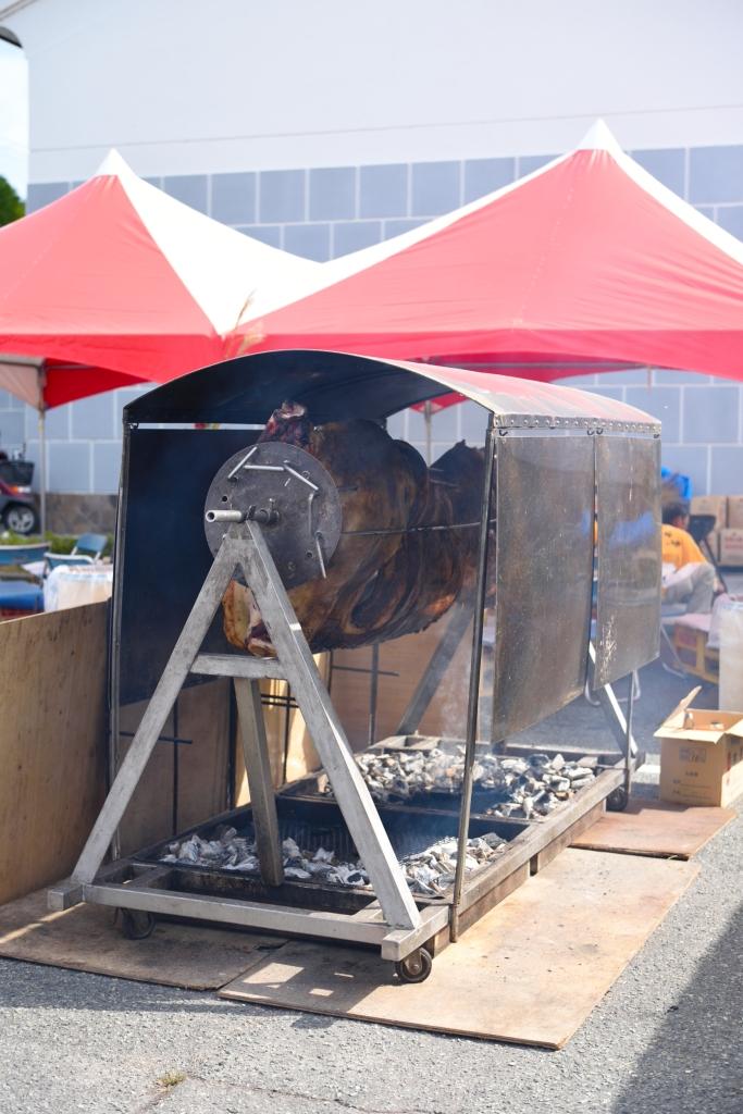 丹波篠山牛の丸焼き1